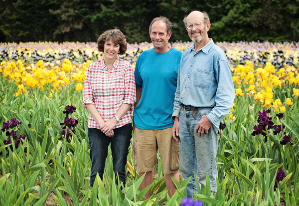 Third Generation: Liz (Schreiner) Schmidt, with brothers Ray and Steve Schreiner Photo courtesy Stacey Griffin Photography