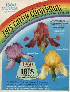 1960 Catalog Cover from Lloyd Austin's Iris Gardens