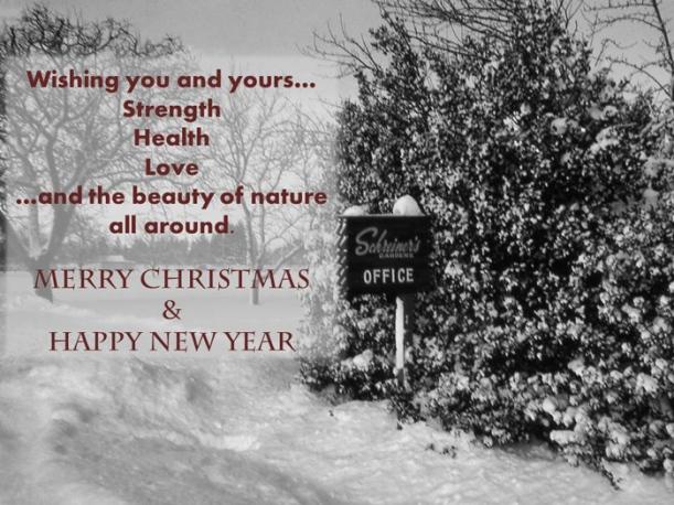 Schreiner's Gardens|Holiday Message